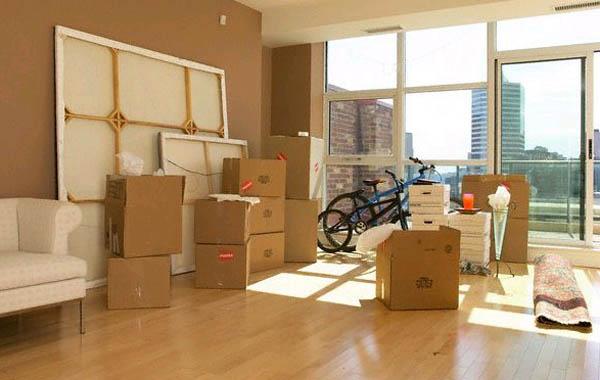 Квартирный переезд в большом городе