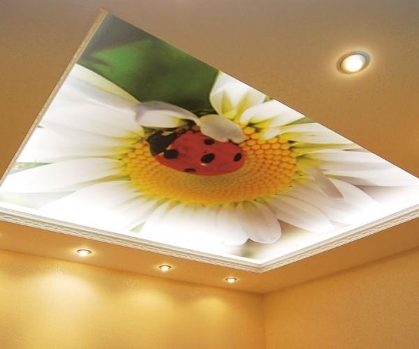 Многоуровневые натяжные потолки – великолепие вашего интерьера