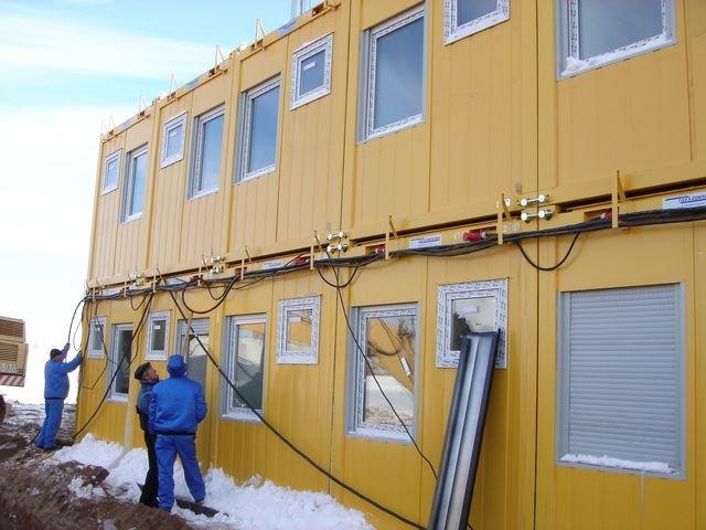 Модульные здания быстрого монтирования