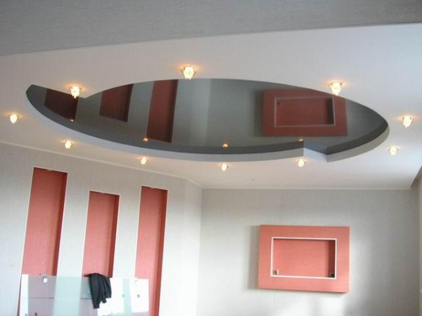Натяжные потолки для евроремонта