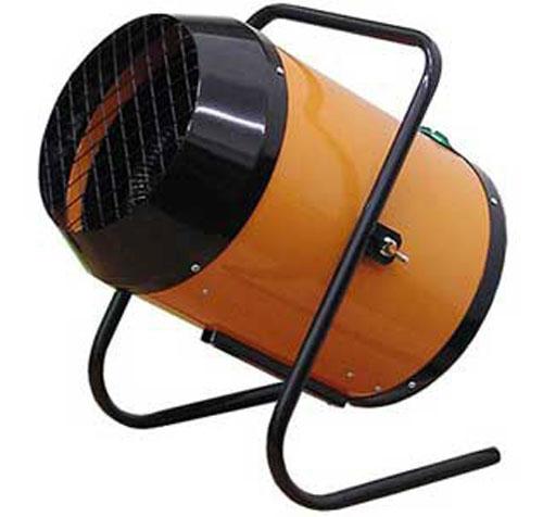 Обеспечение теплом при помощи завес и пушек